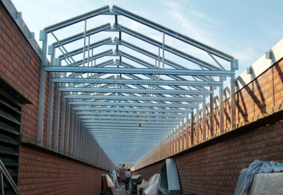 Bccc Penn Hall Roof Scaffold And Trusses (10) N