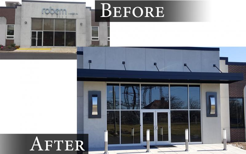 Moser Commercial Front Entrance
